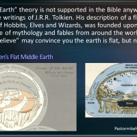 Middle Earth Was Flat